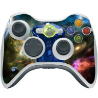 [poledit] Dr Who Xbox 360 Wireless Controller Vinyl Decal Sticker Skin by Compass Litho/12851019