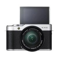 Fujifilm X-A10 Kit 16-50mm Kamera Mirrorless - Silver