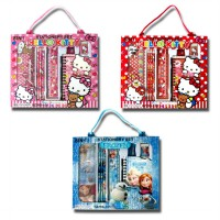 Stationery Set / Perlengkapan Alat Tulis 8 in 1 RS 101 Hello Kitty