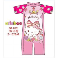 Swimsuit ailubee printing for kids original import