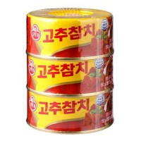 [poledit] Ottogi Red Pepper Tuna 5.29oz.X3can / 150gX3 (T1)/12624675
