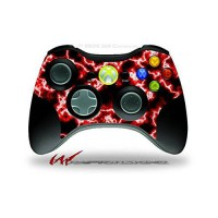 [poledit] WraptorSkinz XBOX 360 Wireless Controller Decal Style Skin - Electrify Red (CONT/13035403