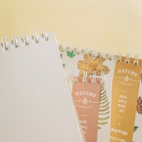 Simple Joy Nature Sketch Book Medium / Buku Sketsa Gambar Murah Sampul Lucu Unik Kertas Putih Polos