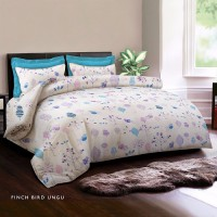 KING RABBIT Bed Cover Single + Seprai - KIDS FAVORIT Ukuran 120x200 cm