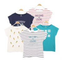 AEON Women Short Sleeve Tee 5 Variations