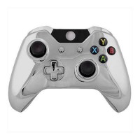 [poledit] Game Bully Xbox One Controller Full Housing Shell - Chrome Silver (R2)/12516013