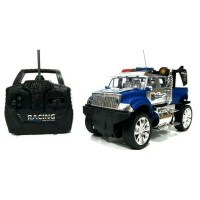 Mainan Anak Remote Control Police Jeep RC Murah
