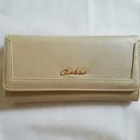 [CHARLES & KEITH] CLASSIC WALLET | GOLD