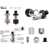 Tobeco Mini Super Tank 22mm RTA Atomizer Vape (Authentic)
