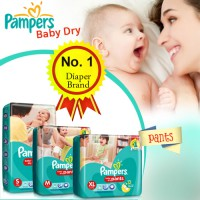 PAMPERS BABY DRY PANTS Size M30/L26