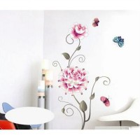 Wallsticker 50x70 Single Rose