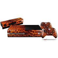 [poledit] WraptorSkinz Fractal Fur Cheetah - Holiday Bundle Decal Style Skin Set fits XBOX/13139162