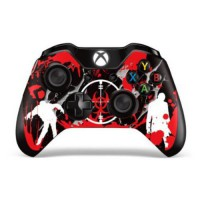 [poledit] 247Skins Designer Skin Sticker for the Xbox One Wireless Controller Decal Infect/12509928