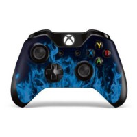 [poledit] 247Skins Designer Skin Sticker for the Xbox One Wireless Controller Decal Ice Fl/12510355