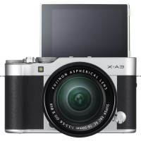 Fujifilm X-A3 (Silver). With 16-50mm Lens.