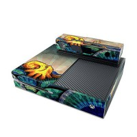 [poledit] MyGift From the Deep Design Decal Skin Sticker for Microsoft Xbox One Console (H/12850671