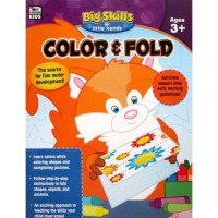[HelloPandaBooks] Color & Fold Big Skills for Little Hands Activity Book (Ages 3+)