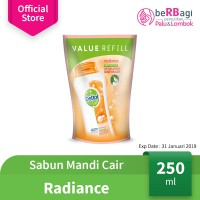 Dettol Bodywash Gold Radiance 250ml