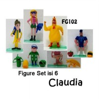 Claudia Action Figure Set isi 6 [FG102]