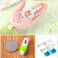 Cable Protector Cord Winder Pelindung Ujung Kabel Earphone