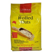 Lowan Oat Whole Foods Rolled Oats 1kg