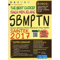 The Best Choice! Siaga Menjelang SBMPTN SAINTEK 2017