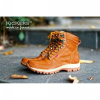 Sepatu boot safety ujung besi KICKERS ARL / safety shoes steel toe cap, Size : 39 - 44