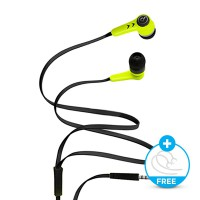 Bits Earphone Colorfull Edition J336 FREE Double Earhook