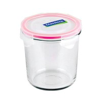 GLASSLOCK Food Jar Round RP529 720 ml