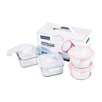 GLASSLOCK Foodware Set GL22 (Set of 4)