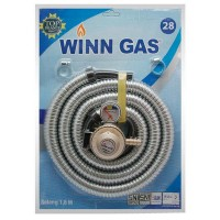Winn Gas Paket Selang Regulator Gas 1,8 meter
