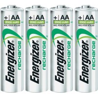 Energizer Rechargeable Battery 2000 Mah Size Aa Bisa Di Cas (Isi4)