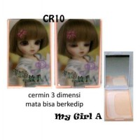 Cermin 3D + Sisir My Girl A [CR10]