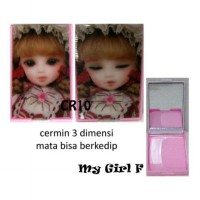 Cermin 3D + Sisir My Girl F [CR10]
