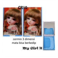 Cermin 3D + Sisir My Girl H [CR10]