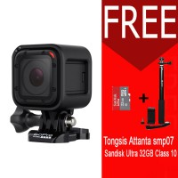 GoPro Hero 4 Session 8MP Free Tongsis Memory 32GB Sandisk Ultra