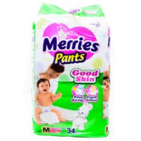 Merries Pants M34 2 banded/pcs