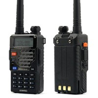 Radio Walkie Handy Talky HT BAOFENG POFUNG Dual Band UHF VHF UV-5RE - Black