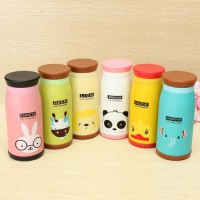 botol minum thermos anak / Stainless tumbler animal character for kids