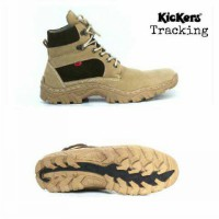 Sepatu KICKERS tracking animation cream, Size : 39 - 43