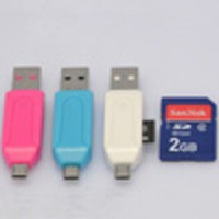 OTG/USB 2.0 for SDHC and Micro Sd card reader