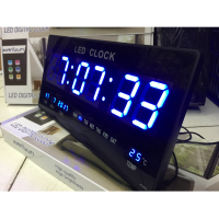 Jam Dinding Digital LED Meja LED Clock