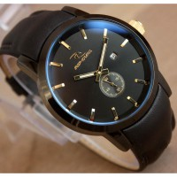 Ripcurl detroit chrono detik leather / Gratis Box