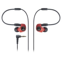 Audio Technica ATH-IM70 Dual symphonic driver In-ear Monitor - Red