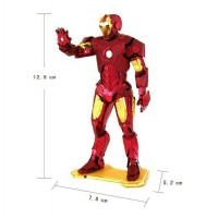 PUZZLE METAL 3D IRON MAN