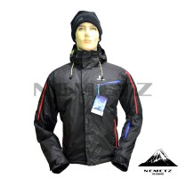 Jaket Gunung Salomon Supernova Full Seam-Sealed Insulated Hitam