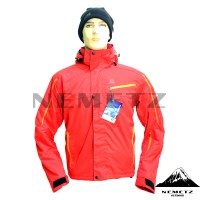 Jaket Gunung Salomon Supernova Full Seam-Sealed Merah