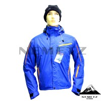 Jaket Gunung Salomon Supernova Full Seam-Sealed Biru