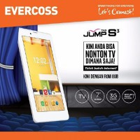 Tablet Evercoss AT7H+ Jump Tab S3 Dual GSM LCD 7inch Kitkat 3G HSDPA RAM 512MB TV Analog