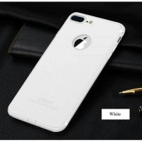 Case iPhone 7/7 Plus +/6/6s/5/5s Slim Silicone Casing White [Premium!]